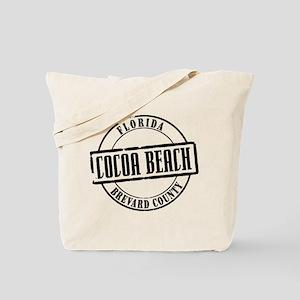 Cocoa Beach Title Tote Bag