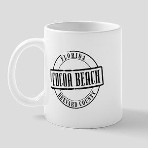 Cocoa Beach Title Mug