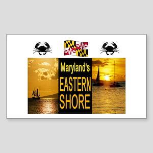CHESAPEAKE BAY Sticker (Rectangle)