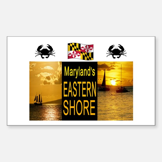 CHESAPEAKE BAY Sticker (Rectangle)