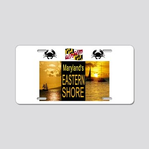 CHESAPEAKE BAY Aluminum License Plate
