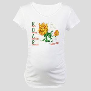ROAR -Dandy Lions Maternity T-Shirt