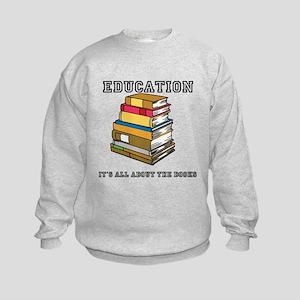Education Kids Sweatshirt