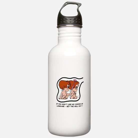 Redhead EGGBERT Get Out Water Bottle