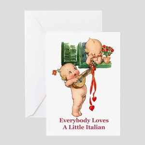 Everyone Loves a Little Italian Greeting Card