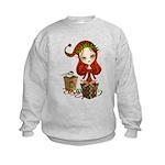 Jollybelle Christmas Elf Kids Sweatshirt