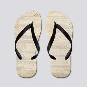 The Us Constitution Flip Flops