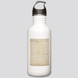 The Us Constitution Stainless Water Bottle 1.0L