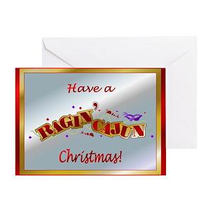 Cajun christmas greeting cards cafepress m4hsunfo