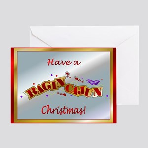 Cajun christmas greeting cards cafepress ragin cajun greeting card m4hsunfo