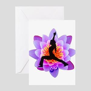 Lotus Yogini Greeting Cards
