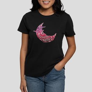 Ramadan Kareem Crescent Women's Dark T-Shirt