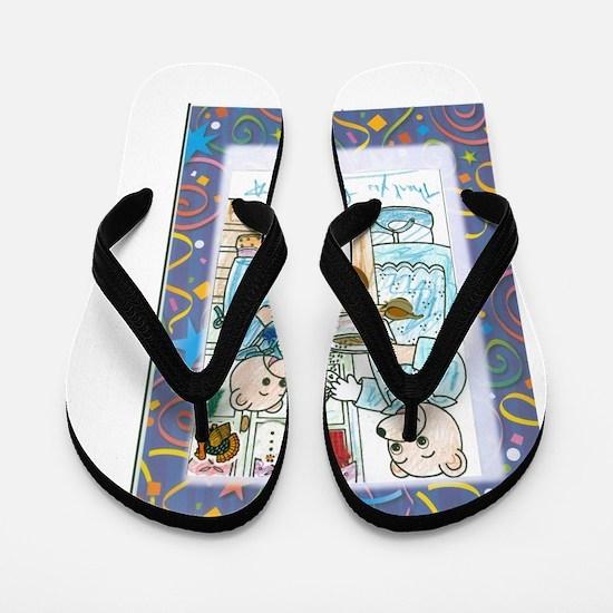 Cute Kwanza Flip Flops