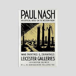 Paul Nash War Artist Rectangle Magnet