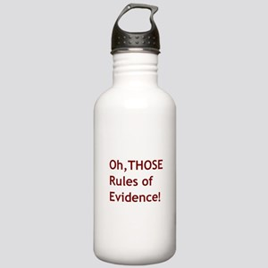 Rules of Evidence 2 Stainless Water Bottle 1.0L