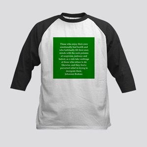 brahms quotes Kids Baseball Jersey