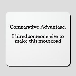 Comparative Advantage Mousepad