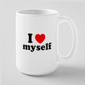 I Love Myself Large Mug