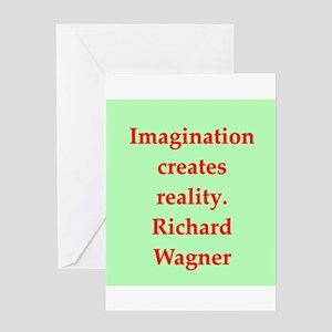 Richard wagner quotes Greeting Card