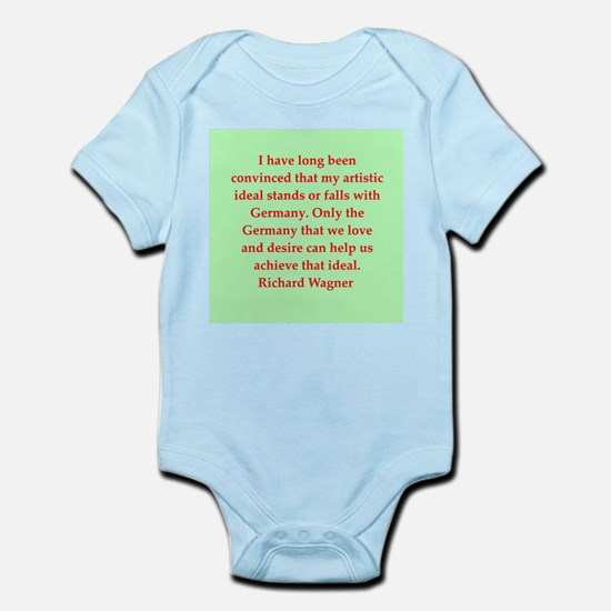 Richard wagner quotes Infant Bodysuit