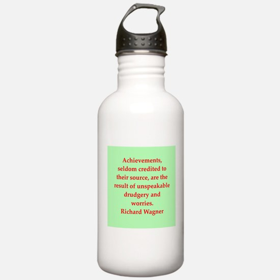 Richard wagner quotes Water Bottle