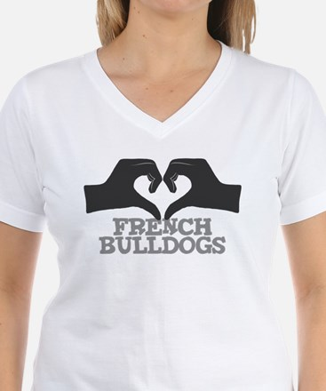 Heart for French Bulldogs Shirt