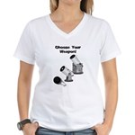 Stargazer Weapon Women's V-Neck T-Shirt