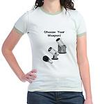 Stargazer Weapon Jr. Ringer T-Shirt