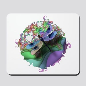 Dragonfly Swirl Mousepad