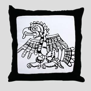 Maya Harpy Eagle Throw Pillow