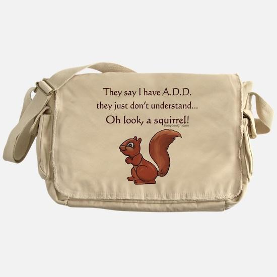 ADD Squirrel Messenger Bag