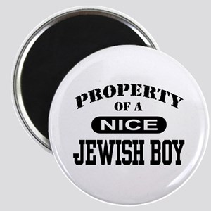 Property of a Nice Jewish Boy Magnet