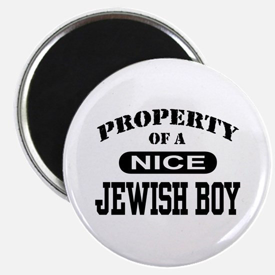 Property of a Nice Jewish Boy Magnet