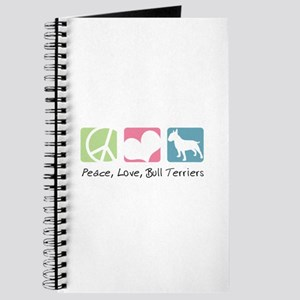 Peace, Love, Bull Terriers Journal