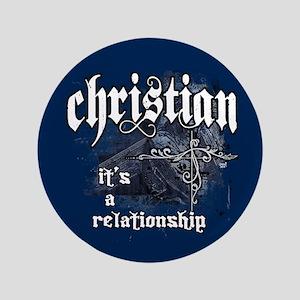 "Christian/Relationship 3.5"" Button"