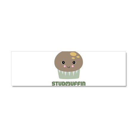 Super Cute Stud Muffin Car Magnet 10 x 3
