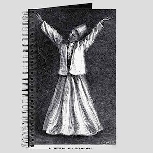 Whirling Sufi Dervish Journal
