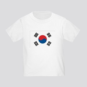 South Korean Flag Toddler T-Shirt