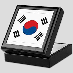 South Korean Flag Keepsake Box