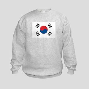 South Korean Flag Kids Sweatshirt