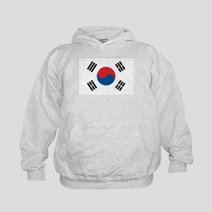 South Korean Flag Kids Hoodie
