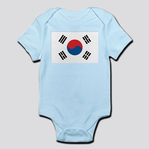South Korean Flag Infant Creeper