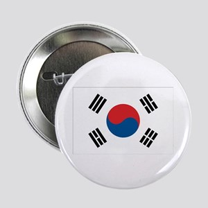 South Korean Flag Button