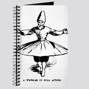 """Whirling Sufi Dervish """"In Ful Journal"""