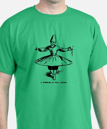 """Whirling Sufi Dervish """"In Ful T-Shirt"""