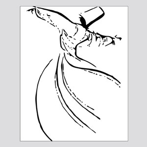 Whirling Sufi Dervish Small Poster