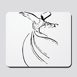 Whirling Sufi Dervish Mousepad