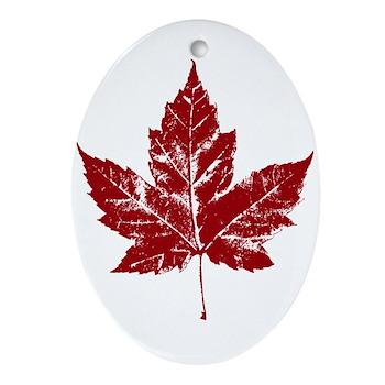 Cool Canada Ornament (Oval)