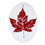 Cool Canada Ornament (Oval)