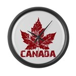 Cool Canada Large Wall Clock